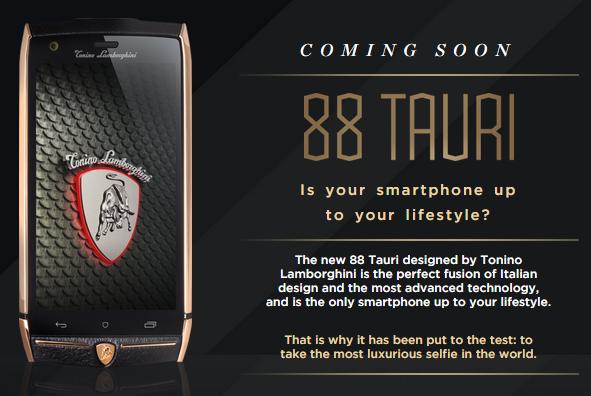 Tonino Lamborghini Smartphone