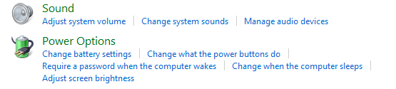 Change Power Options in Windows 7 / 8