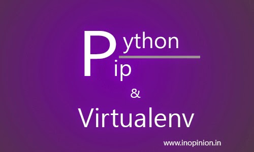 Install Python pip and virtualenv on windows